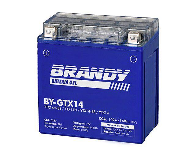 Bateria Brandy Bygtx14 Gel 0280