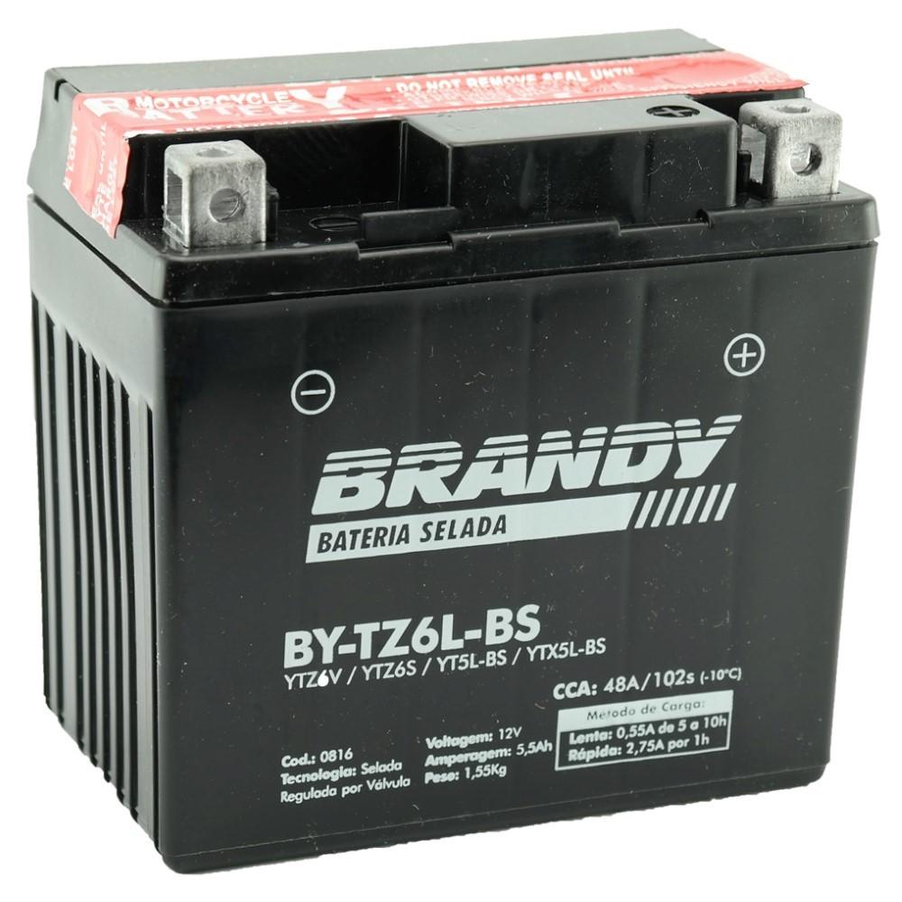 Bateria Brandy Bytz6lbs/ytz6v Tit150mix/xre