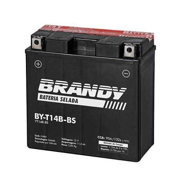 Bateria Brandy Yt14bbs 0484