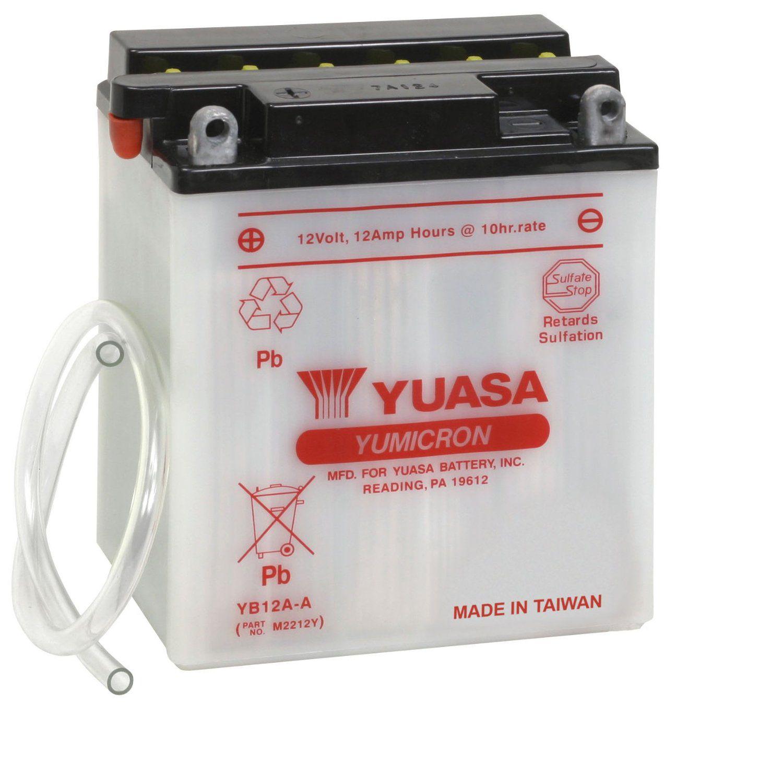 Bateria Yuasa Yb12aa Cb400/450/virago