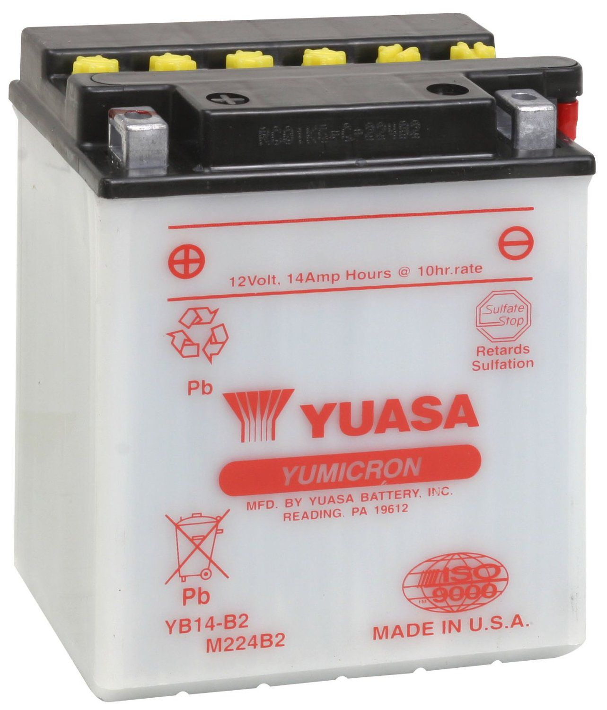 Bateria Yuasa Yb14b2 Cb750/xl600 114187