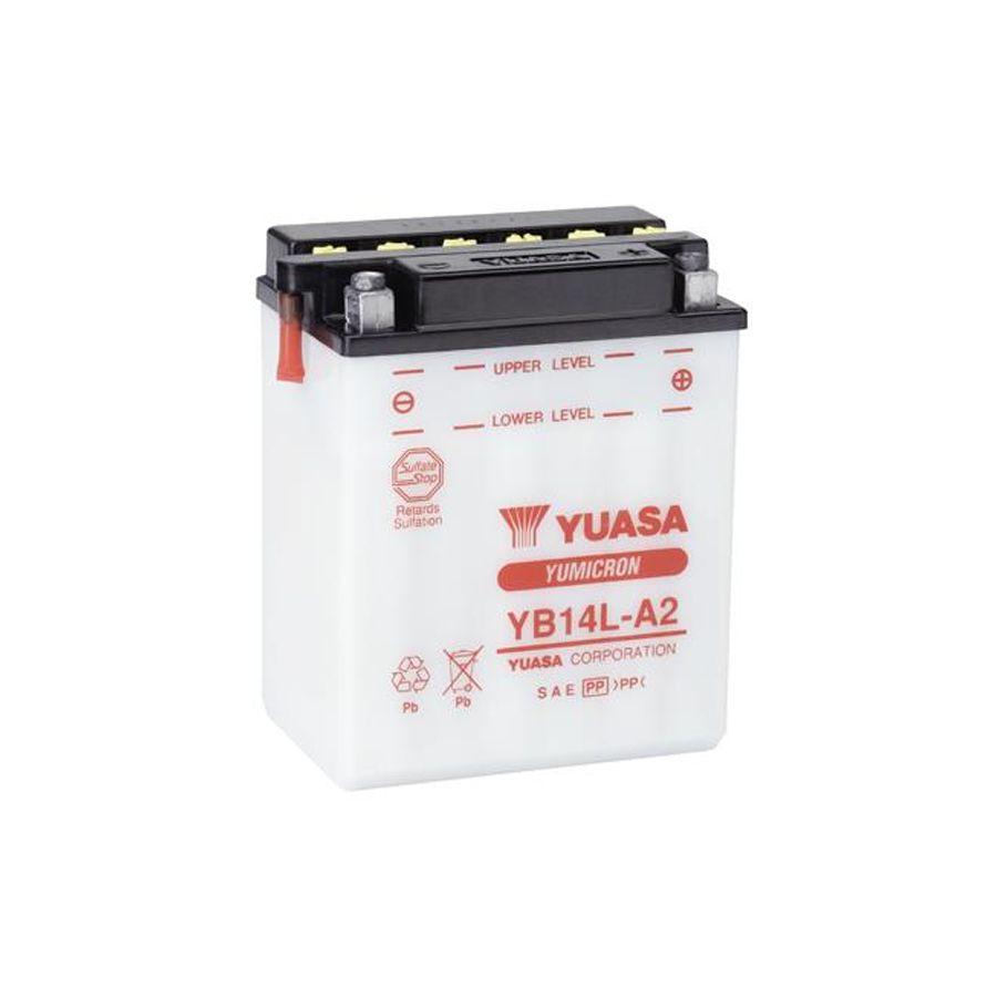 Bateria Yuasa Yb14la2 Polo Invertido