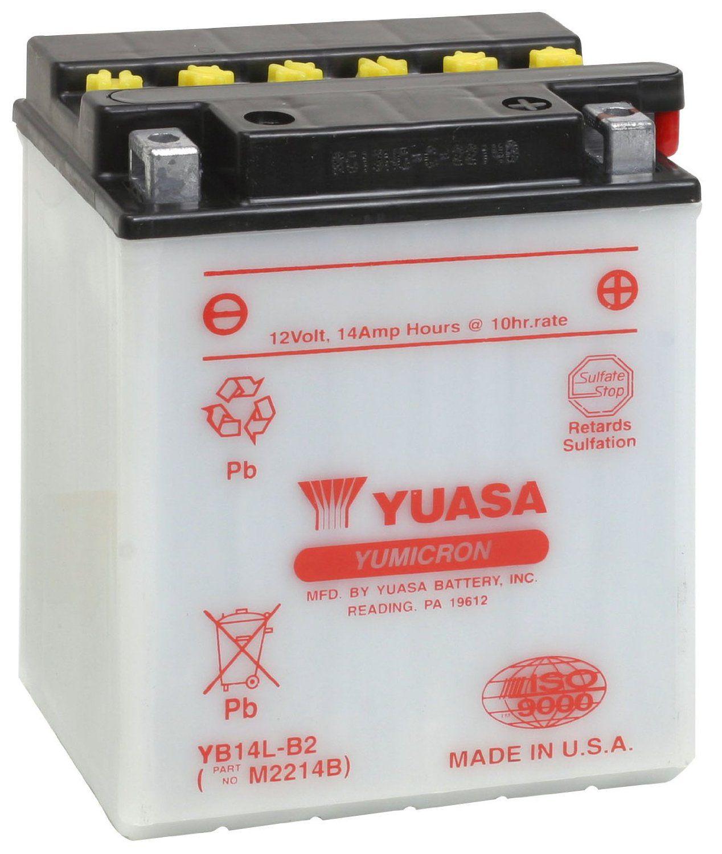 Bateria Yuasa Yb14lb2 Cbr1000f/dr750