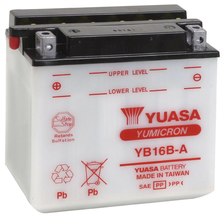 Bateria Yuasa Yb16ba Vf1000fr/vs600