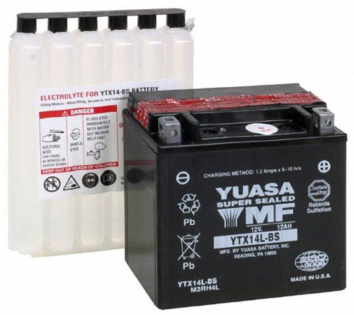 Bateria Yuasa Ytx14lbs Harley David