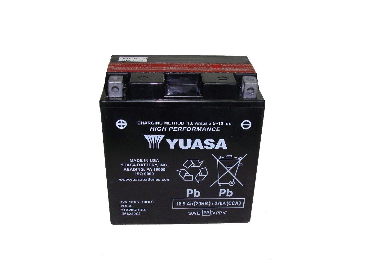 Bateria Yuasa Ytx20chbs Xl1000 112217