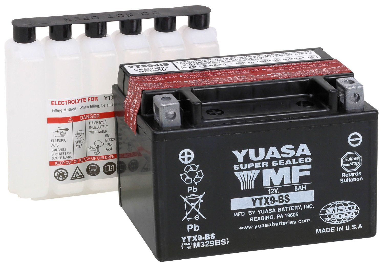 Bateria Yuasa Ytx9bs Xt600e/cb500 14176