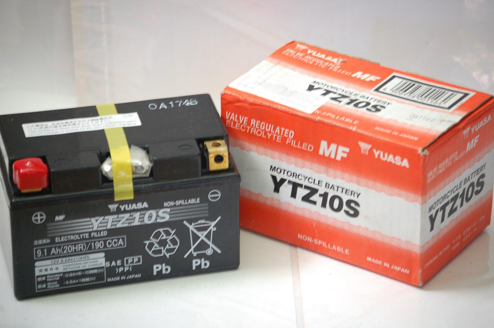 Bateria Yuasa Ytz10s Hornet/r1/cbr600rr 4191