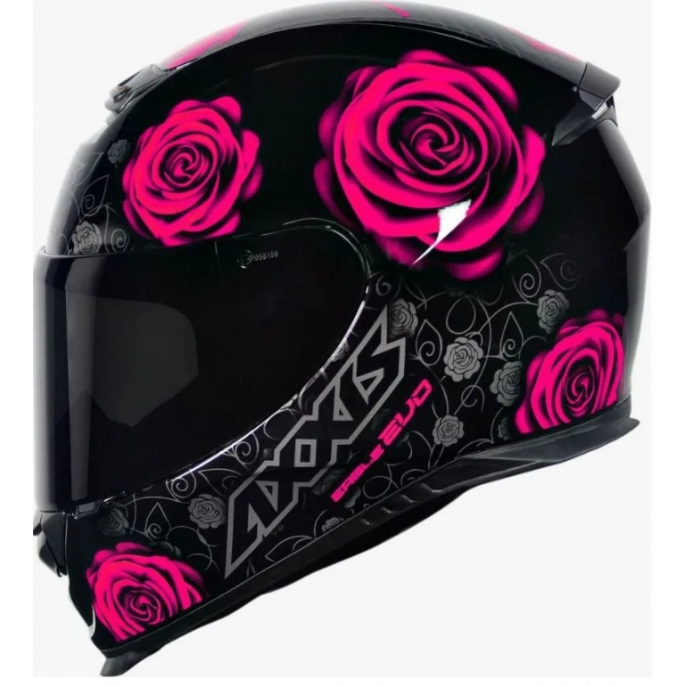 CAPACETE AXXIS EAGLE EVO FLOWERS