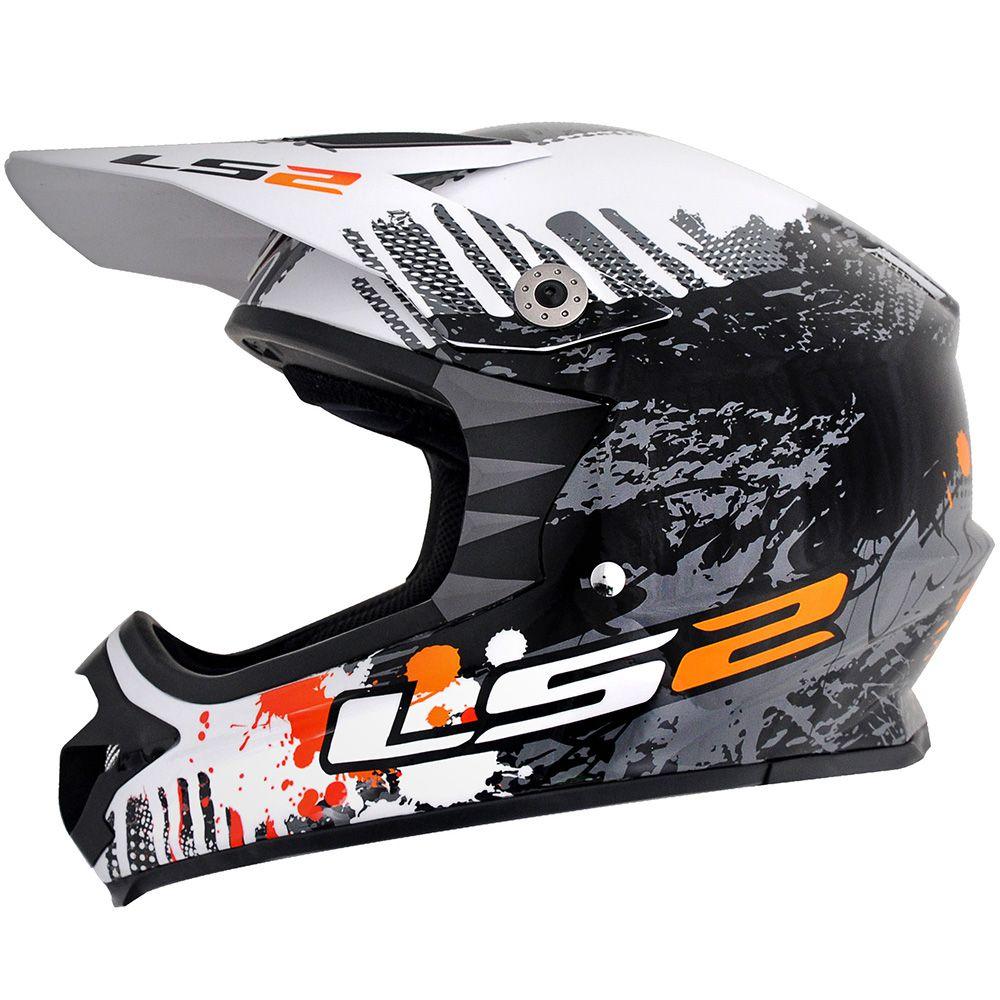 Capacete Ls2 Mx451 Dirt Gloss 56/
