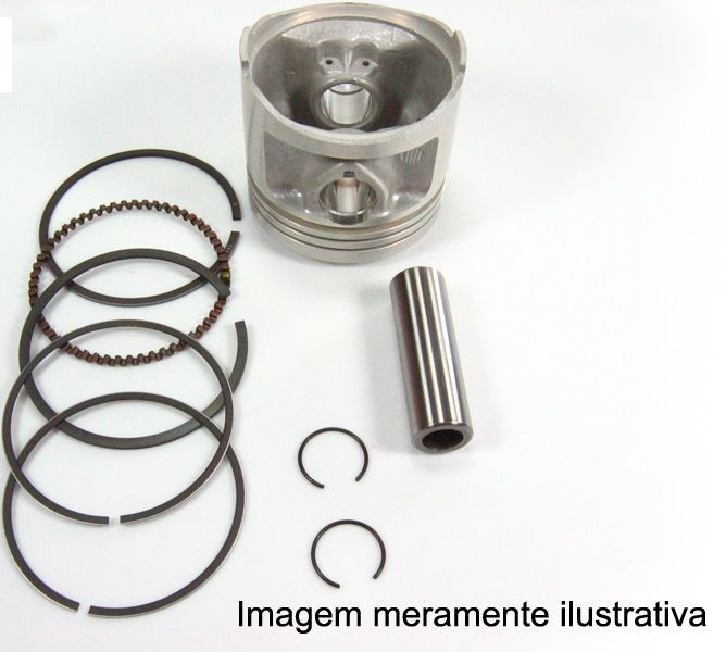 Kit Pis/anel Metal Leve Rd135 0.25 1782/102863