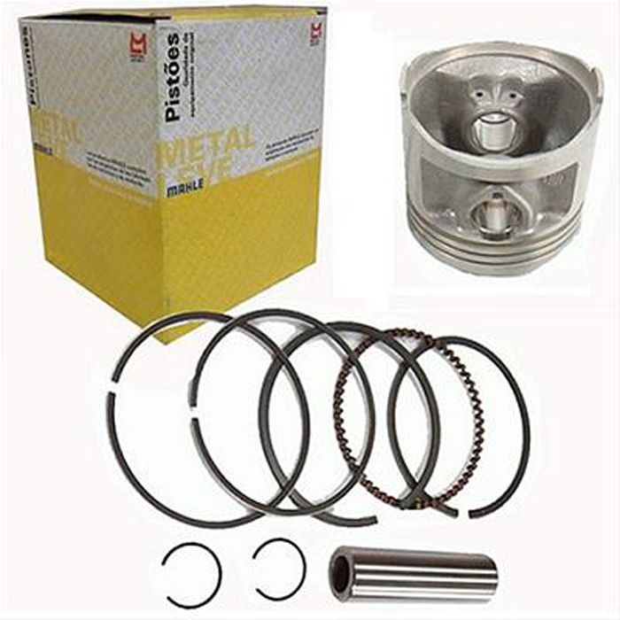 Kit Pis/anel Metal Leve Ybr 0.50 9114