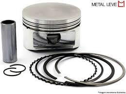 Kit Pis/anel Metal Leve Ybr 1.00 9114