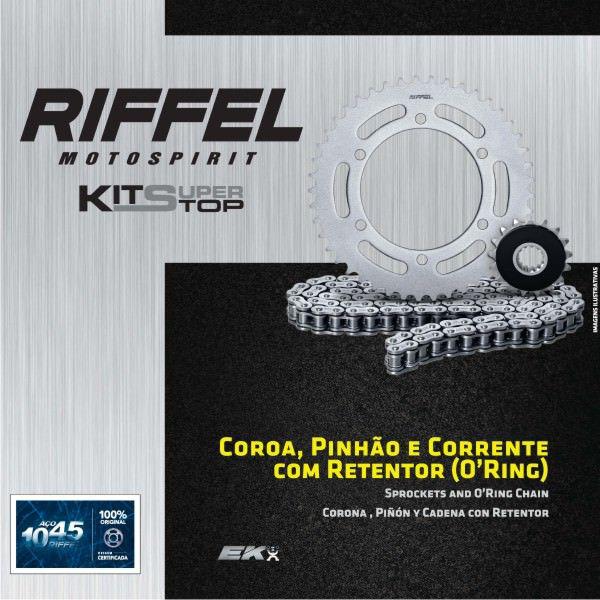 Kit Relacao Riffel Bandit650 07/11c/ret91105