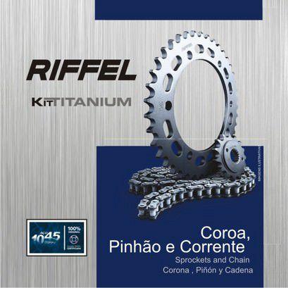 Kit Relacao Riffel Bros150 49x17 71884