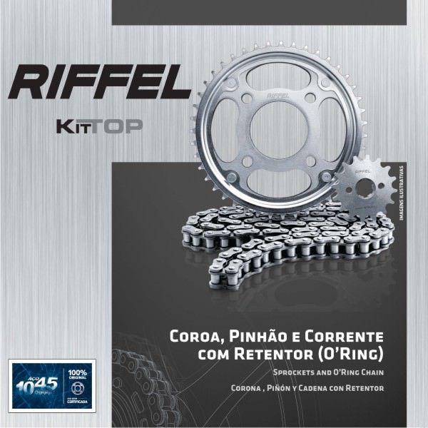 Kit Relacao Riffel Bros150 50x17 C/ret 91092