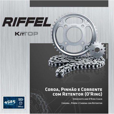 Kit Relacao Riffel Fazer250 C/ret 91091