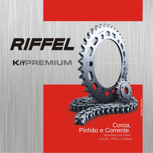 Kit Relacao Riffel Tit125 Fan09/13 Prem70893