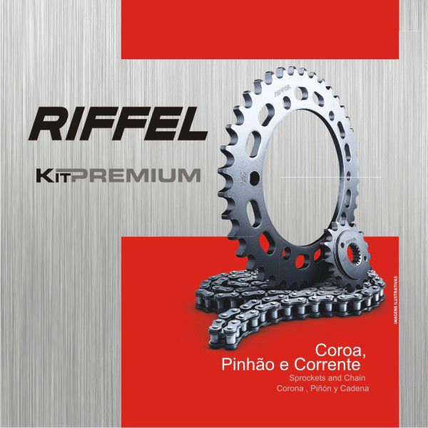 Kit Relacao Riffel Xt/tdm 225 Prem 70768