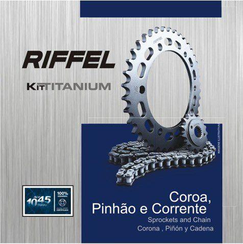 Kit Relacao Riffel Ybr 43x14 71797