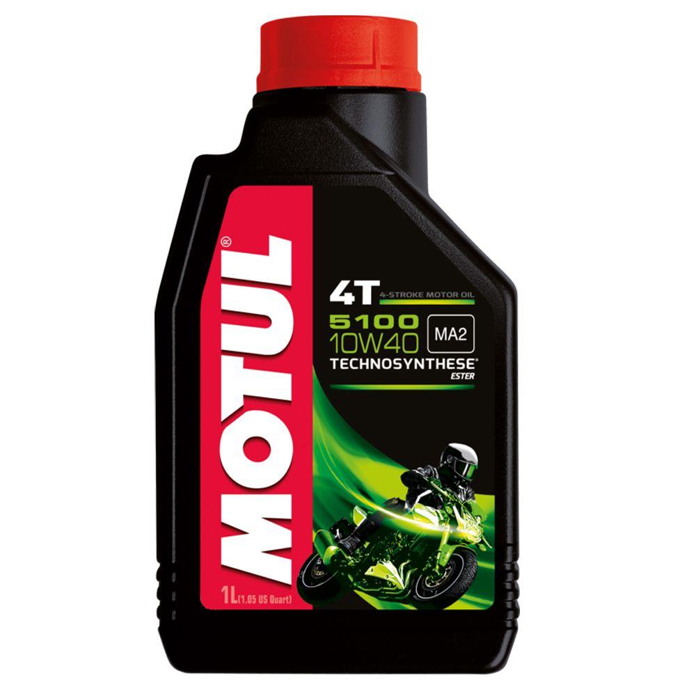 Oleo Motul 4t 5100 10w40 1lt Mt389