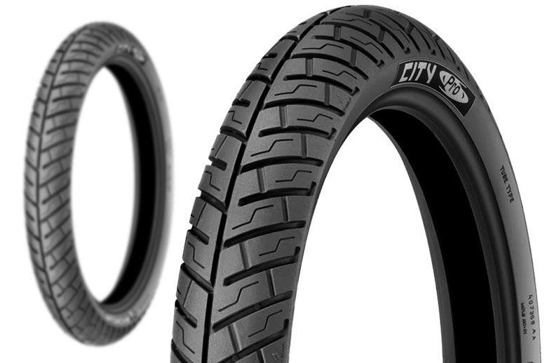 Pneu Diant Michelin 80-80-16 City Pro Tl/tt
