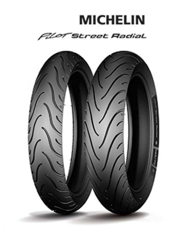Pneu Tras Michelin 150-60-17pilot Stre Radial 66h
