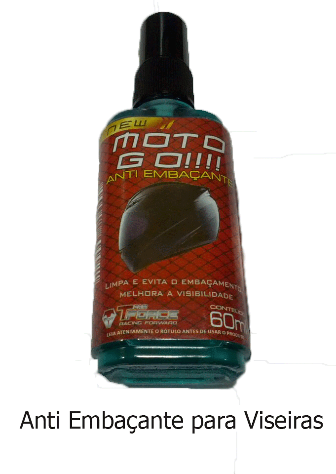Spray Tforce Desemb Viseira Moto Go!