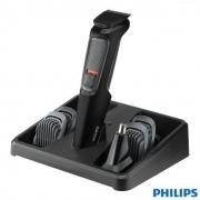 Aparador de Pelos Multigroom Philips MG3711/15 - MG3711/15 PRETO/CINZA Bivolt