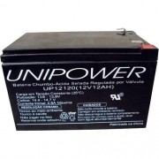 Bateria Unipower 12 V 12 AH F250 UP12120 RT