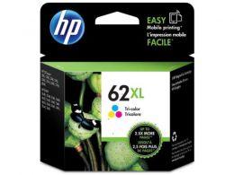 Cartucho de Tinta Officejet HP Suprimentos C2P07AL HP 62XL Tricolor 11,5 ML