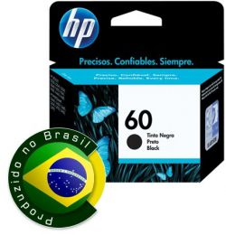 Cartucho HP 60 Jato de Tinta Preto 4,5ML - CC640WB