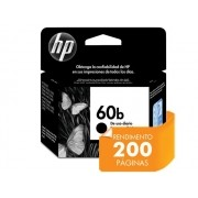 Cartucho HP 60B Everyday Jato de Tinta Preto 4,5ML - CC636WB