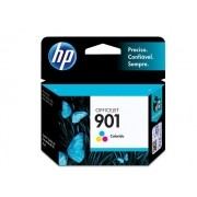 Cartucho HP 901 Officejet Jato de Tinta Tricolor 13ML - CC656AB
