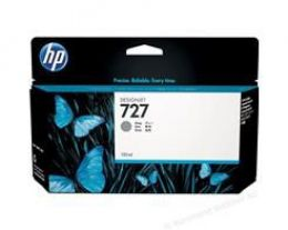 Cartucho HP Plotter 727 Jato de Tinta Cinza 130ML - B3P24A