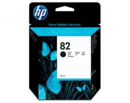 Cartucho HP Plotter 82 - Preto 69ML - CH565AB