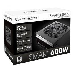 Fonte 600W TT SMART ATX2.3 A-PFC 80+WHITE PS-SPD-0600NPCWBZ-W