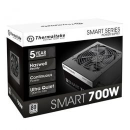 Fonte 700W TT SMART ATX2.3 A-PFC 80+WHITE PS-SPD-0700NPCWBZ-W