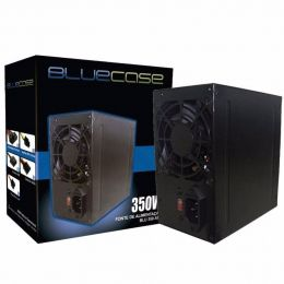 Fonte de Alimentacao 350W C/ Cabo C/ Caixa (BLU350-K ATX) - Bluecase