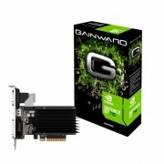 Gpu NV GT 710 2GB DDR3 64BITS Gainward NEAT7100HD46-2080H
