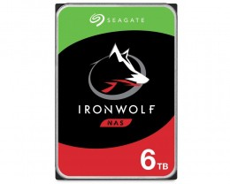 HD Interno Seagate NAS Ironwolf 6TB SATA 3.5 256MB (ST6000VN001)