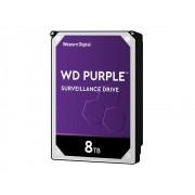 HD WD SATA 3,5´ Purple Surveillance 8TB 5400RPM 256MB Cache SATA 6.0GB/S - WD82PURZ