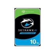 HDD 3,5 Sistema Seguranca Vigilancia  Seagate 2KX101-500  ST10000VE0008 SKYHAWK AI 10 Teras 256MB 24X7 6GB/S SATA