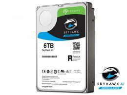 HDD 3,5 Sistema Seguranca Vigilancia  Seagate 2MB110-300 ST6000VE001 SKYHAWK 6 Teras 256MB 24X7 6GB/S SATA