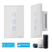 Interruptor Sonoff 03 BOTAO-TOUCH Wifi T0US3C Google Home Alexa