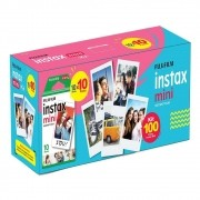 Kit Filme INSTAX Mini 100 Fotos Fujifilm