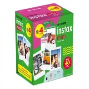 Kit Filme INSTAX Mini 40 Fotos Fujifilm
