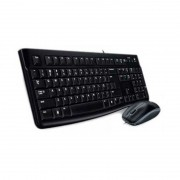 Kit Mouse + Teclado com Fio MK120 Logitech