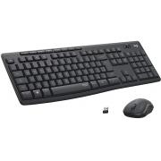 Kit Mouse + Teclado sem Fio Logitech MK295 Silent