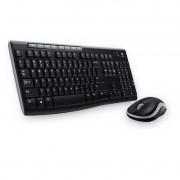 Kit Mouse + Teclado sem Fio MK270 Logitech